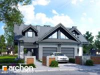 Widok 1 projekt blizniak w jednej dokumentacji dom w klematisach 5 b ver 2 1568108346  259