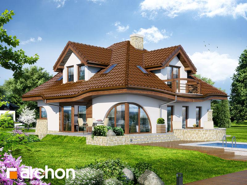 gotowy projekt Dom w zefirantach (P) widok 1