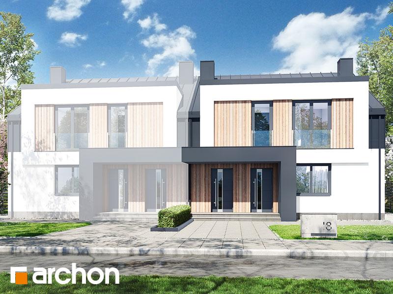 gotowy projekt Dom w bratkach 11 (R2B) widok 1