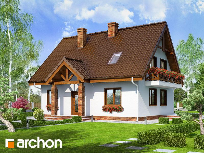 gotowy projekt Dom w prymulkach widok 1