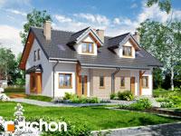 Widok 1 projekt blizniak w jednej dokumentacji dom w cyklamenach 2 ver 2 1571651883  259