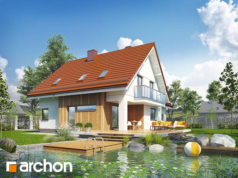 gotowy projekt Dom w kłosowcach widok 1