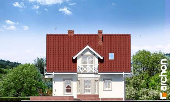 Elewacja boczna projekt dom w rododendronach 2 ver 2  266