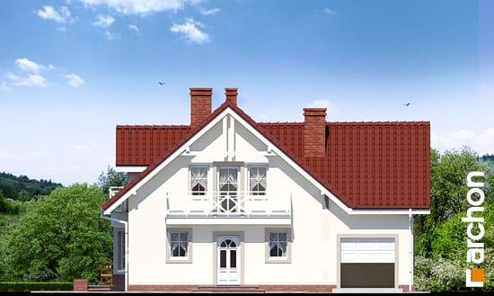 Elewacja frontowa projekt dom w rododendronach 2 ver 2  264