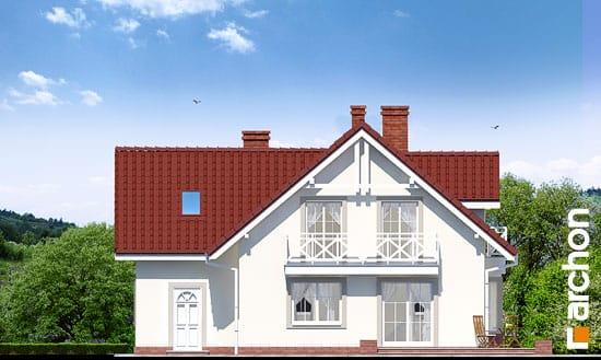Elewacja ogrodowa projekt dom w rododendronach 2 ver 2  267