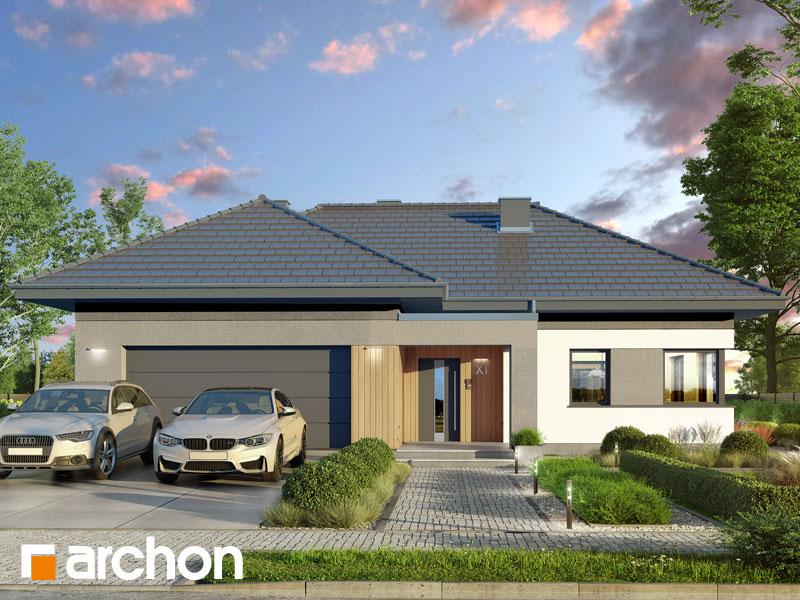 gotowy projekt Dom w widliczkach 4 (G2) widok 1