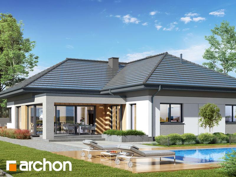 gotowy projekt Dom w widliczkach 4 (G2) widok 2