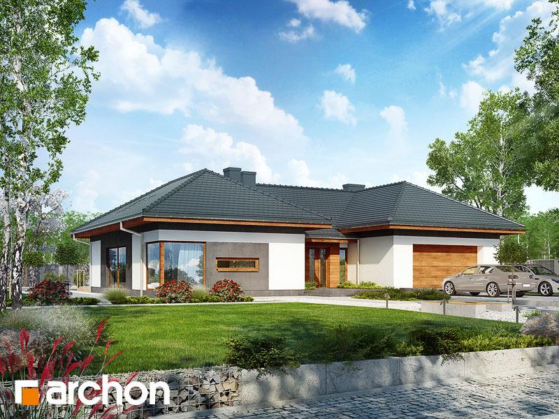 gotowy projekt Dom w kliwiach (G2A) widok 1
