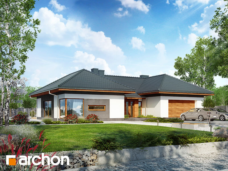 projekt Dom w kliwiach (G2A) widok 1
