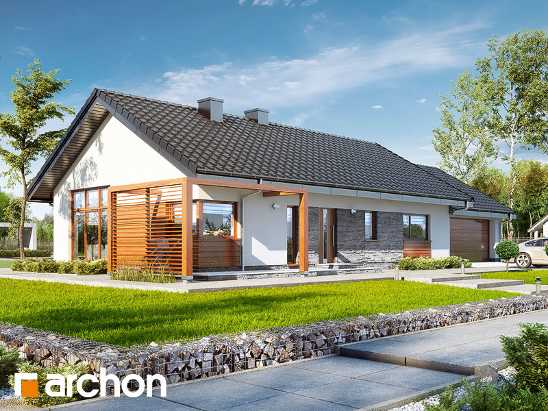 gotowy projekt Dom w mekintoszach 4 (G2) widok 1