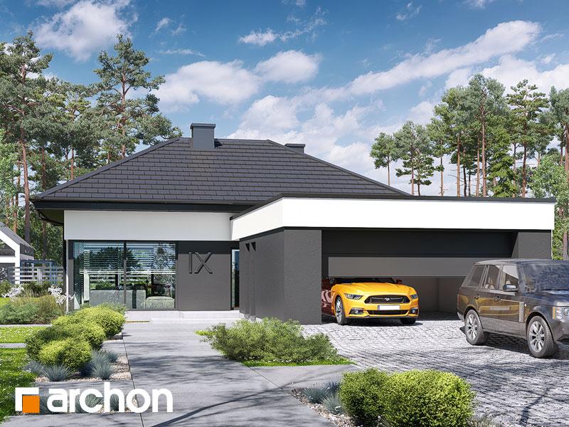 gotowy projekt Dom w galantusach 2 (G2) widok 1
