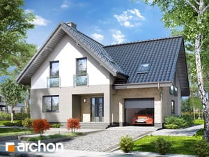 gotowy projekt Dom w liatrach