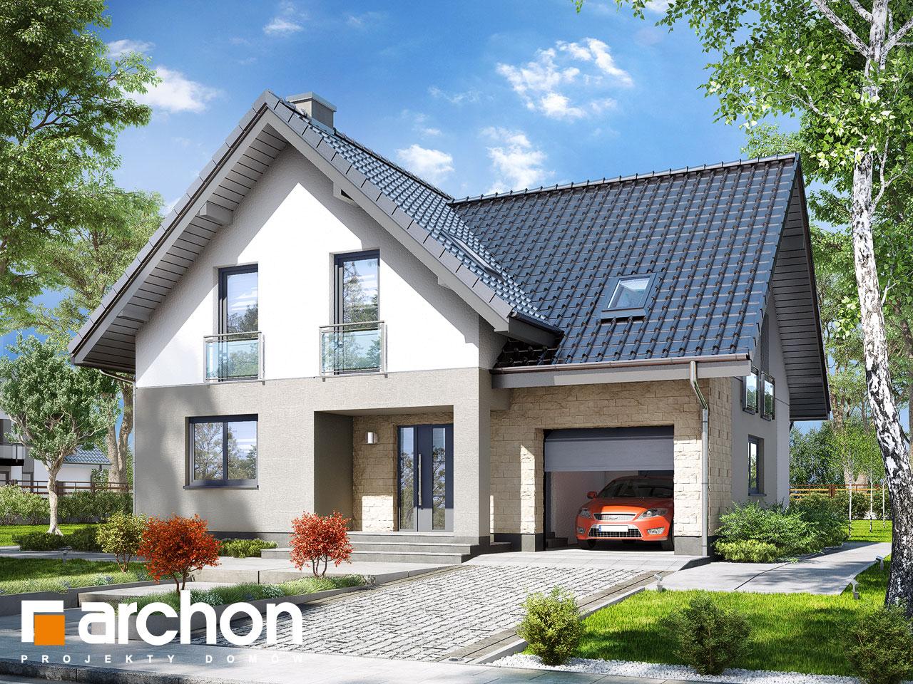 Projekt domu Dom w liatrach - ARCHON+