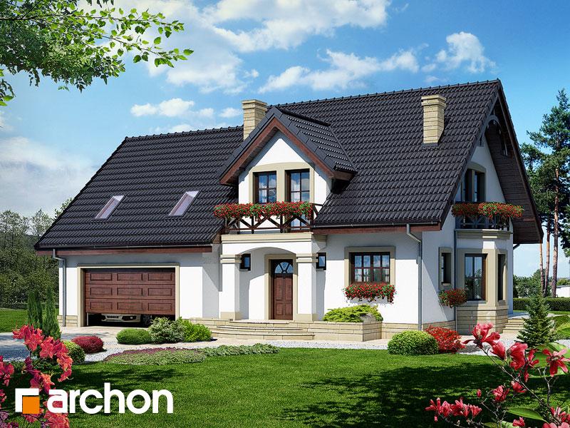 gotowy projekt Dom w tamaryszkach 4 (G2) widok 1