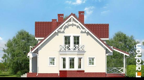 Elewacja boczna projekt dom w tamaryszkach 4 ver 2  265