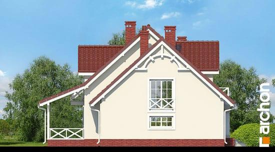 Elewacja boczna projekt dom w tamaryszkach 4 ver 2  266