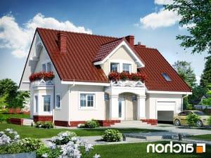 projekt Dom w tamaryszkach 4 lustrzane odbicie 1