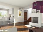 projekt Dom w tamaryszkach 4 Strefa dzienna (wizualizacja 1 widok 1)