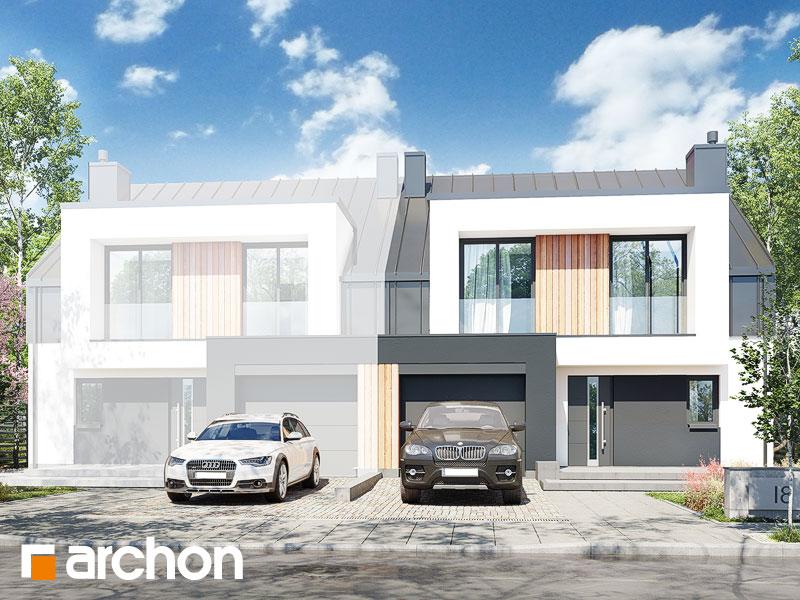 gotowy projekt Dom w klematisach 30 (B) widok 2
