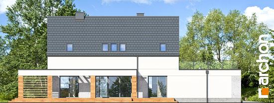 Elewacja boczna projekt dom w santini 3 g2  265