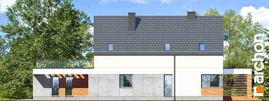 Elewacja boczna projekt dom w santini 3 g2  266