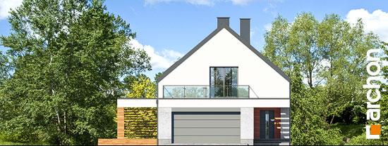 Elewacja frontowa projekt dom w santini 3 g2  264