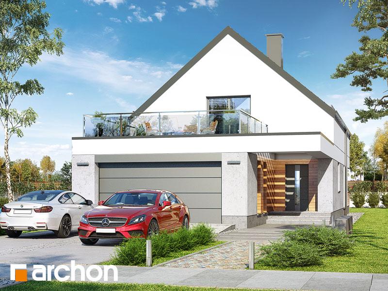 gotowy projekt Dom w santini 3 (G2) widok 1