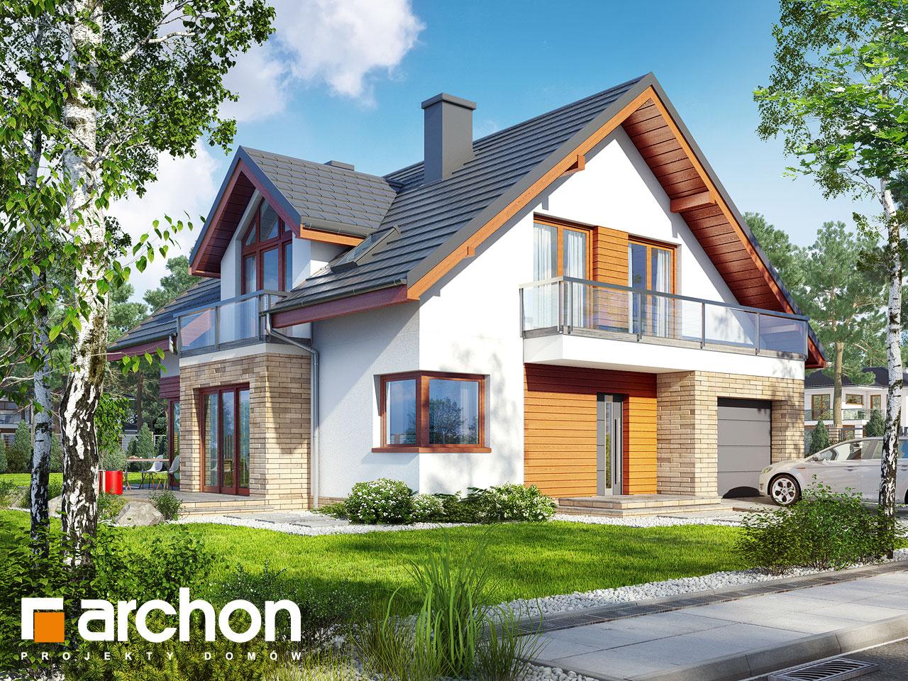 Projekt domu Dom w tymianku 8 - ARCHON+