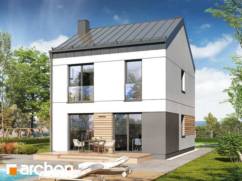 gotowy projekt Dom w arkadiach 4 widok 2
