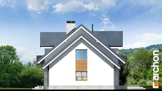 Elewacja boczna projekt dom w rododendronach 6 n ver 2  265
