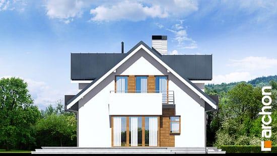 Elewacja boczna projekt dom w rododendronach 6 n ver 2  266