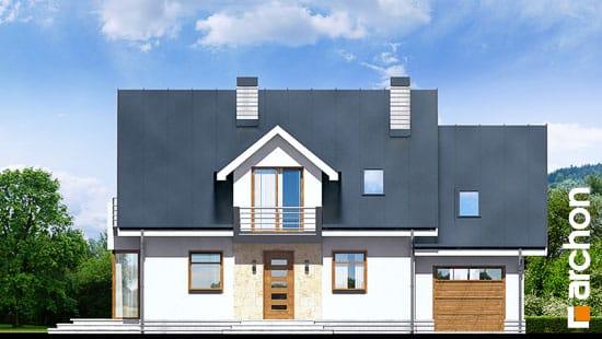Elewacja frontowa projekt dom w rododendronach 6 n ver 2  264