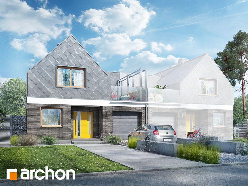 gotowy projekt Dom pod platanami (B) widok 1