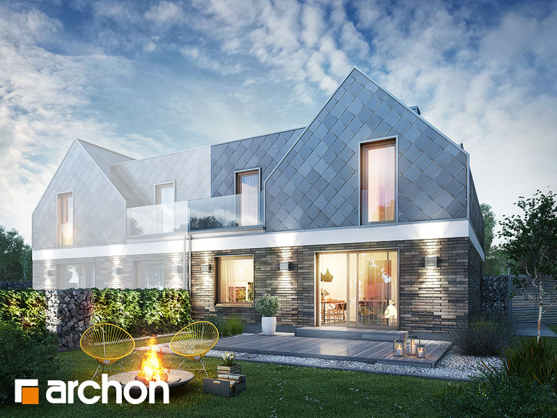 gotowy projekt Dom pod platanami (B) widok 2