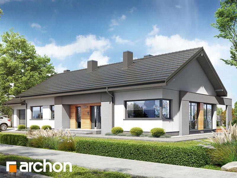 gotowy projekt Dom w bazylii 2 (G) widok 1