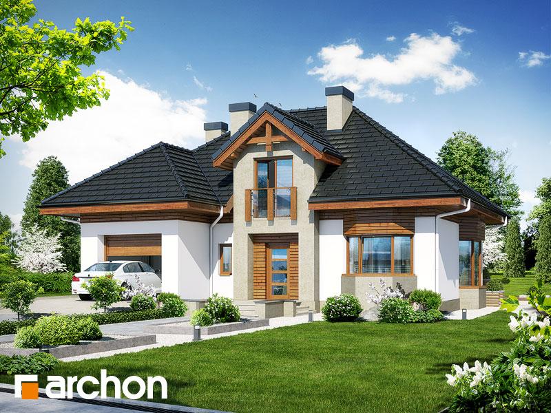 gotowy projekt Dom w kalateach 5 widok 1