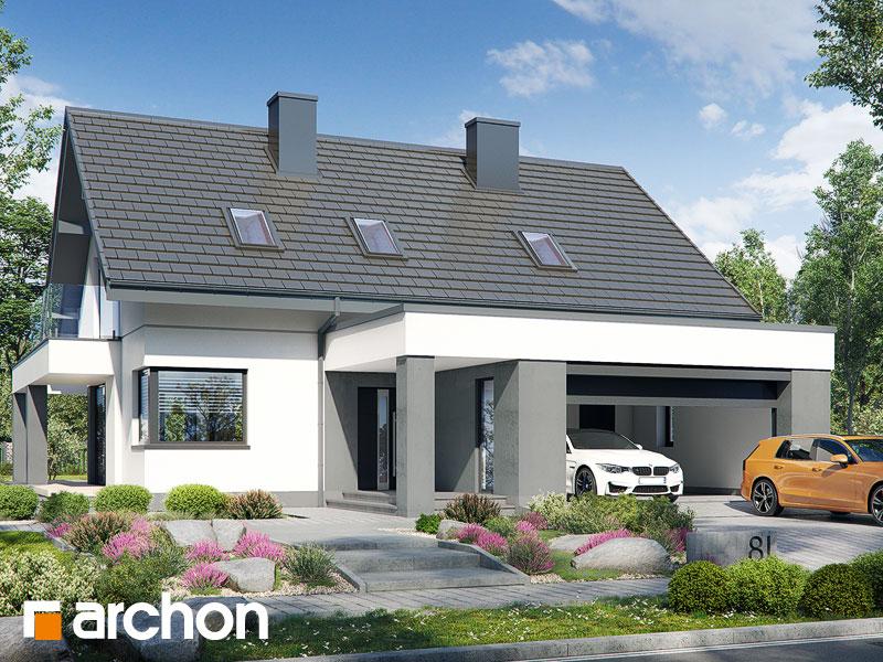gotowy projekt Dom w telimach 3 (G2) widok 1