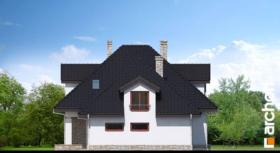 Elewacja boczna projekt dom w czarnuszce g2 ver 2  266