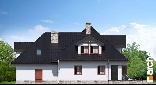 Elewacja ogrodowa projekt dom w czarnuszce g2 ver 2  267