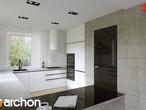 projekt Dom w czarnuszce (G2) Aranżacja kuchni 1 widok 2
