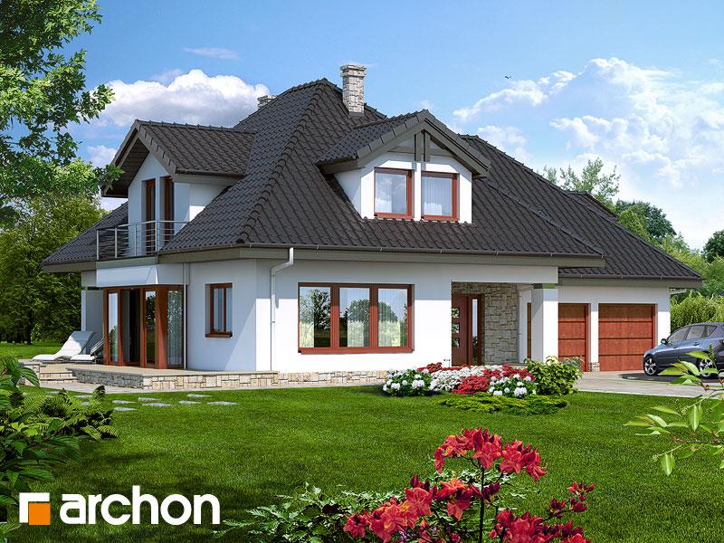 gotowy projekt Dom w czarnuszce (G2) widok 1