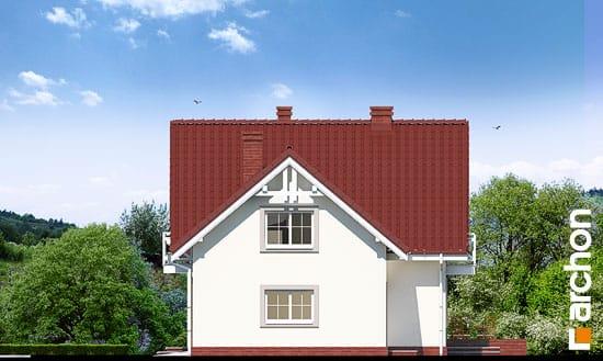 Elewacja boczna projekt dom w rododendronach 2 g2 ver 2  265