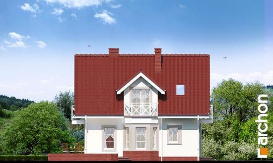 Elewacja boczna projekt dom w rododendronach 2 g2 ver 2  266