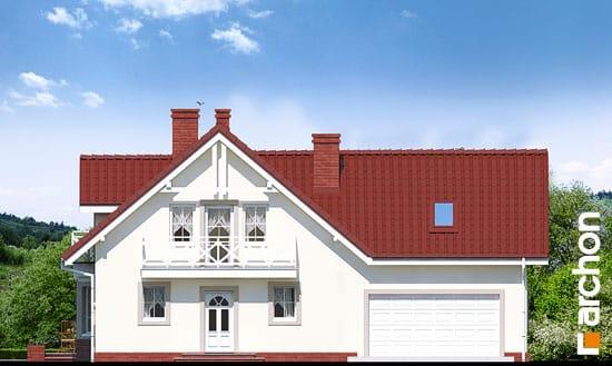 Elewacja frontowa projekt dom w rododendronach 2 g2 ver 2  264