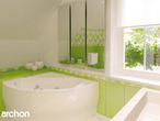 projekt Dom w rododendronach 2 (G2) Wizualizacja łazienki (wizualizacja 3 widok 1)