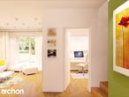 projekt Dom w rododendronach 2 (G2) Strefa dzienna (wizualizacja 2 widok 2)