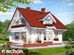 projekt Dom w rododendronach 2 (G2) widok 2