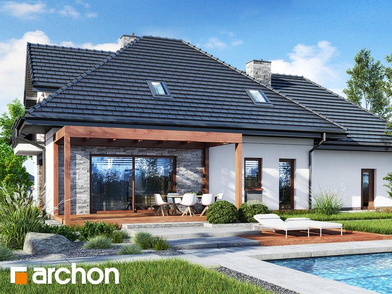 gotowy projekt Dom w wejmutkach (G2) widok 1
