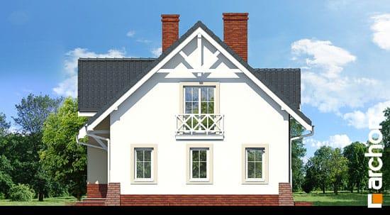 Elewacja boczna projekt dom w groszku 4 ver 2  265