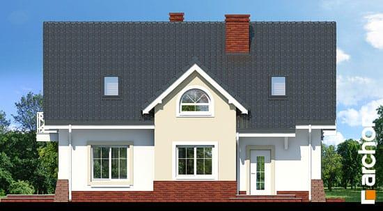 Elewacja frontowa projekt dom w groszku 4 ver 2  264